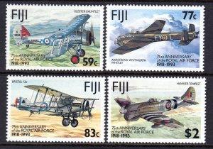 Fiji 1993 Royal Air Force Complete Mint MNH Set SG 873-876