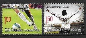 2010    BOSNIA  -  SG.  S 502 / S 503  -  FOOTBALL WORLD CUP.  S.AFRICA  -   UMM