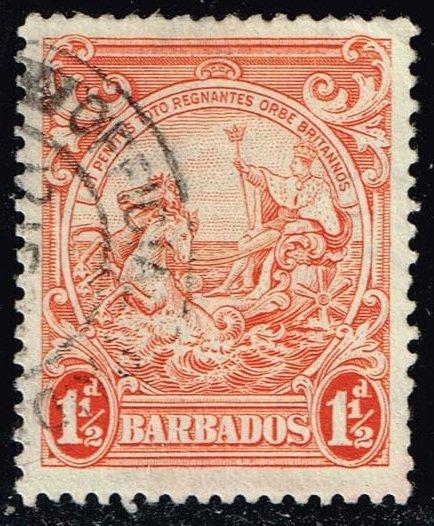 Barbados #195 Seal of the Colony; Used (0.65)
