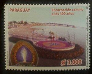 O) 2014 PARAGUAY ,ENCARNACION - LANDSCAPE - VIRGIN. MNH
