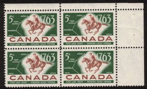 Canada - Postal Service 1963 - Mint Block NH SC413