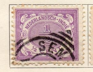 Dutch Indies 1902-09 Early Issue Fine Used 1/2c. 113670