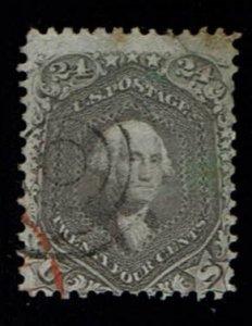 Scott #78b Fine-used. SCV - $450.00