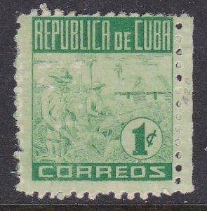 Cuba #420 single F-VF Mint NH ** Tobacco Picking