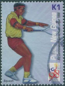 Papua New Guinea 1998 SG844 K1 Squash FU