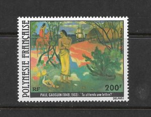 FRENCH POLYNESIA #C169 GAUGUIN ART  MNH