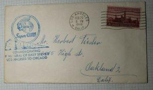 Sante Fe Superior Chief Commenorating Daily Service LA to Chicago 1948 RR Event