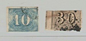 Brazil Postal margins as seen Stamp 6-20-