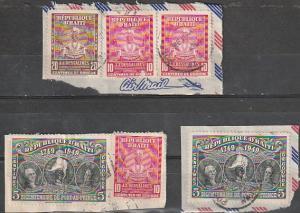 #381,C46,RA10 Haiti Used on paper