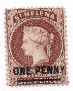 ST HELENA #29 Mint Hinged, Scott $120.00