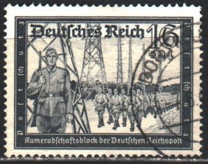 Third Reich. 1939. 710 from the series. Postal police. USED.