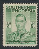 Southern Rhodesia  SG 40  Mint  Hinged