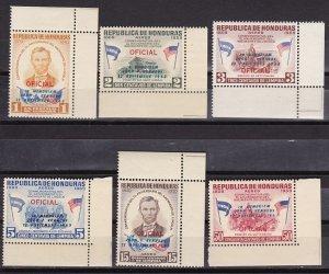 Honduras 1964 Scott C325-C330 JFK Memorial MNH