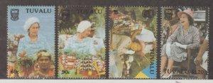 Tuvalu Scott #507-510 Stamps - Mint NH Set