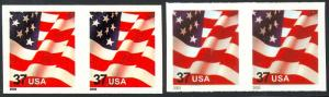 3632a & 3633A, RARE IMPERFORATE ERROR PAIRS WITH PSE'S