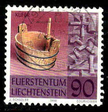 Liechtenstein # 1126 ~ Used, HMR ~ cv 1.25
