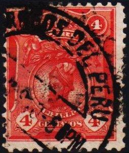 Peru. .1909 4c S.G.375 Fine Used