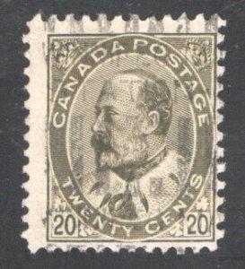 CANADA #94, F,  Used.  CV 50.00  ...   1151063