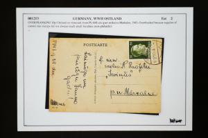 Germany WWII 1943 Ostland Postcard