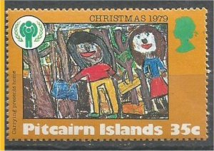 PITCAIRN ISLANDS, 1979, MNH 35c, Christmas and IYC Scott 191