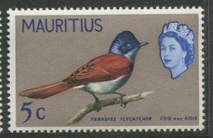 Mauritius - Scott 279 - Birds Definitive Issue-1965- MNH- Single 5c Stamp