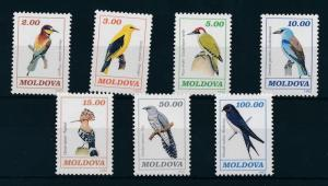 [17547] Moldova 1993 Birds Vögel Oiseaux Ucelli MNH
