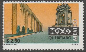 MEXICO 1965 $2.50 Tourism Queretaro, acqueduct, monume. Mint, Never Hinged F-VF.