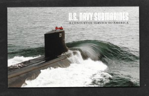 BK279, FDC, US Navy Submarines, FDC Booklet, MNH Stamps,   FREE INSURED SHIPPING