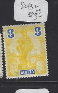 MALTA (PP0710B)   MELITA  4D   SG 132   MOG