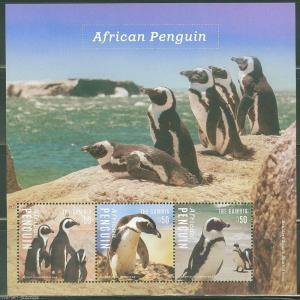 GAMBIA 2014 AFRICAN PENGUIN SHEET I   MINT NH