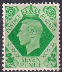 Great Britain #244  MNH CV $5.00 (K2502)