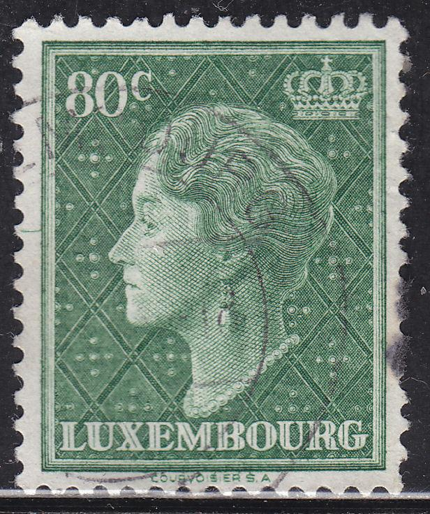 Luxembourg 253 Hinged 1949 Grand Dutchess Charlotte
