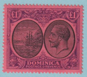 DOMINICA 85  MINT HINGED OG * NO FAULTS EXTRA FINE!