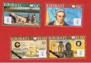 Kiribati #504-507  MNH OG   SYDPEX '88  Free S/H