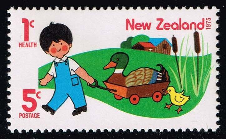 New Zealand #B94 Boy with Duck and Duckling; MNH (0.75)
