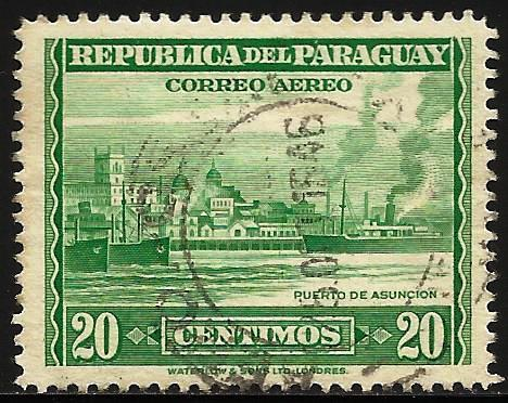 Paraguay Air Mail 1946 Scott# C159 Used