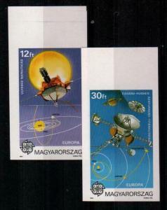 Hungary Scott 3286-7 Mint NH imperf (Catalog Value $50.00)