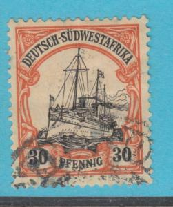 GERMAN SOUTH WEST AFRICA 30 USED - NO FAULTS VERY FINE !