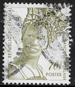 Senegal #1251A Used Stamp - Senegalese Fashion