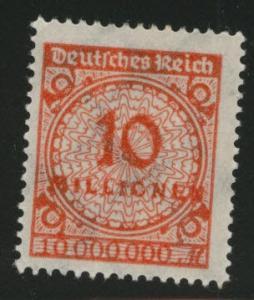 Germany Scott 286 MH* 1923  stamp