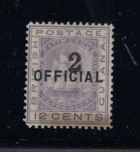British Guiana, Sc 98 (SG 156), MLH, w/ 2000 APS certificate