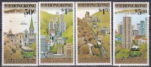 Hong Kong #527-30  MNH CV $6.65 Z117