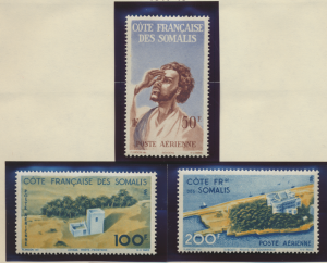 Somali Coast (Djibouti) Stamps Scott #C15 To C17, Mint Never Hinged - Free U....