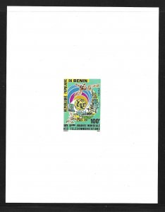 Benin 396 1978 ITU Day single Deluxe s.s. (BB)
