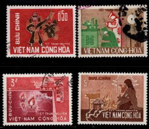 South Vietnam Scott 283-286 stamp set