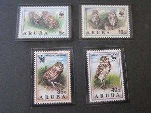 Aruba 1994 Sc 101-4 Bird set MNH