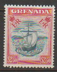 Grenada  QE II  SG 204  mounted mint