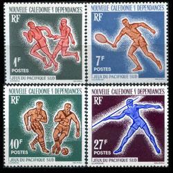 NEW CALEDONIA 1963 - Scott# 324-7 SP.Games Set of 4 LH