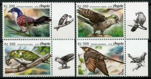 Angola 2018 MNH Cuckoos Cuckoo 4v Set Birds Stamps