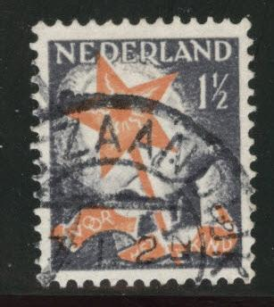 Netherlands Scott B66 used 1933 semi-postal